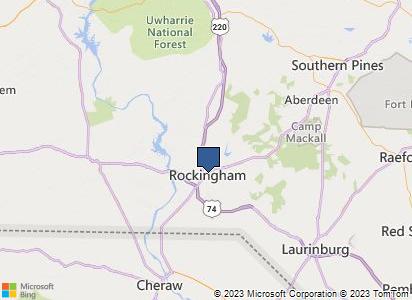 Richmond County Nc Map.Richmond County North Carolina Homefacts