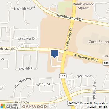 This selected retailer is located at West Atlantic Blvd, Coral Springs, Fl. You can contact them at There is a total of 90 shops representing .